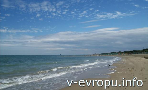 Италия. Море Равенны