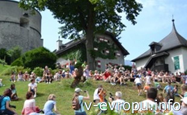 Развлечения в австрийских Альпах летом