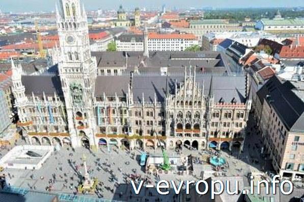 Мюнхен. Вид на Мариенплац