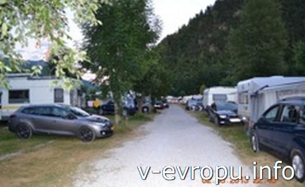 Автокемпинг Берау в курортном регионе Австрии Зальцкаммергут