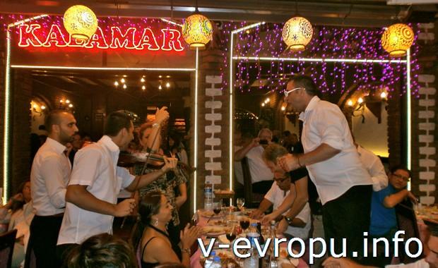 В ресторанчике Стамбула