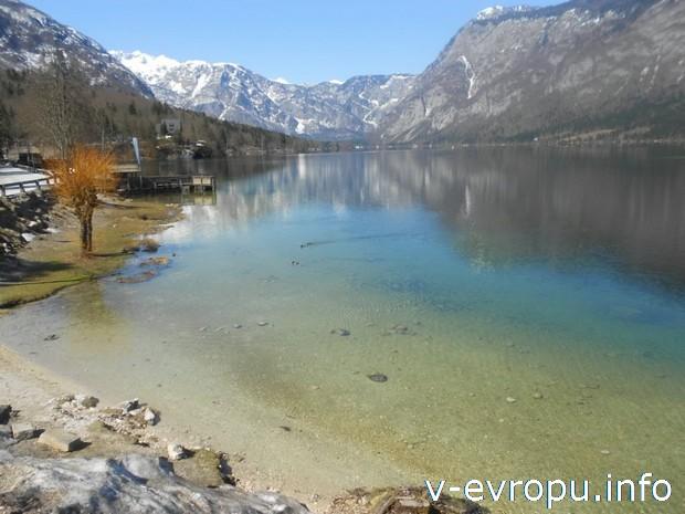 Озеро Бохин в Словении