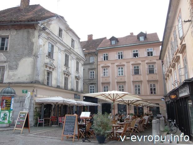 Уютные ресторанчики в Любляне, столице Словении