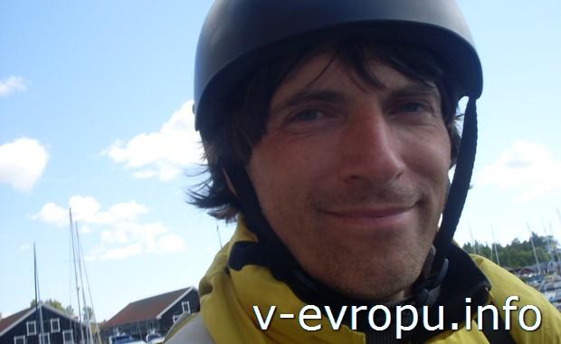 Автор отчета  - Николай-велосипедист в Худиксвалле