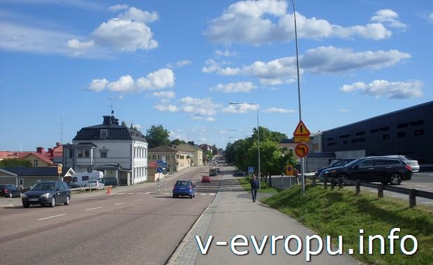 Безопасные дороги в  Hudiksvall