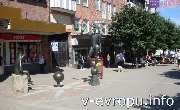 В центре Hudiksvall