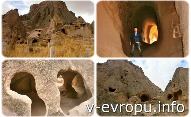 Монастырь в окрестностях Гёреме. Турция