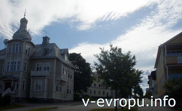 Небо Худиксвалля. Швеция