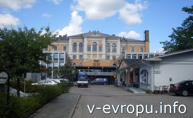 Велопутешествие по  Hudiksvall