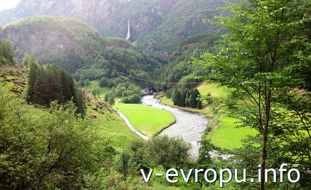 Природа в Норвегии: Мюрдал-Флом