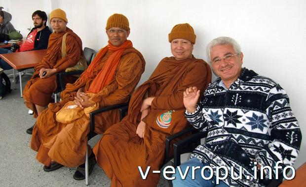 Встреча с тайландскими монахами