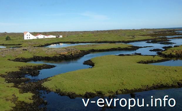 Типичный исландский пейзаж