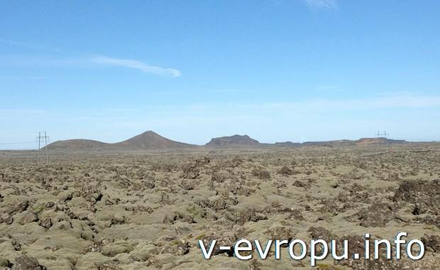 Типичный пейзаж для Исландии