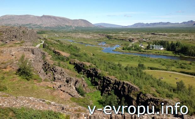 Исландия.Парк Тингветлир
