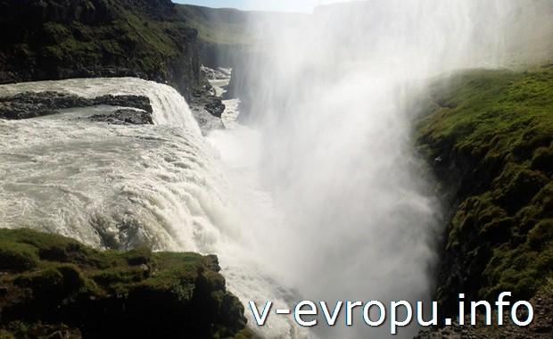 Водопад Гюльфосс. Исландия