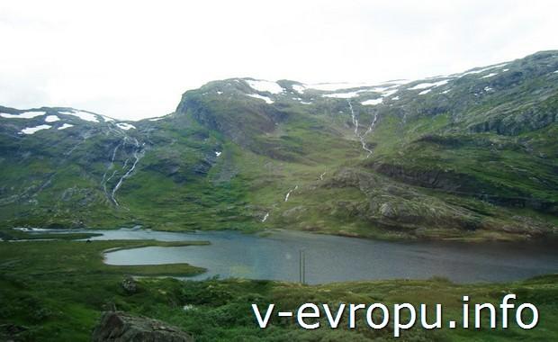 Красоты Норвегии в окрестностях Осло-Мюрдал