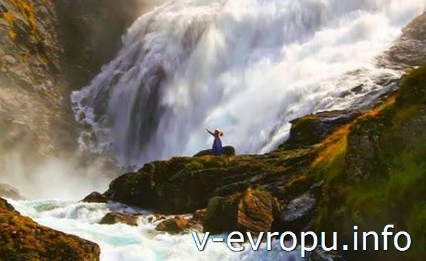 Водопад Кьюсфоссен