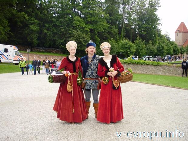 Участники Ландсхутской свадьбы