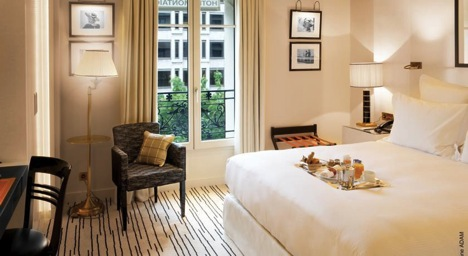 Роскошные отели Парижа 5 звезд