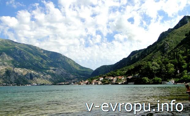Котор, пляжи Черногории