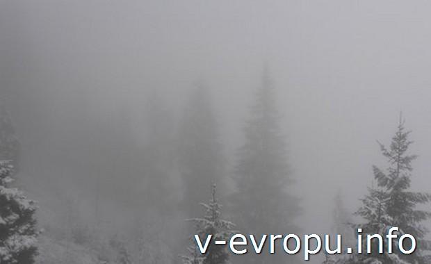 Облака в Альпах