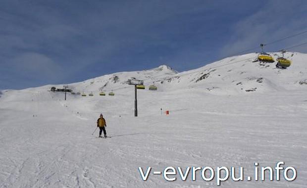 Пустые горнолыжные склоны Нойкирхена
