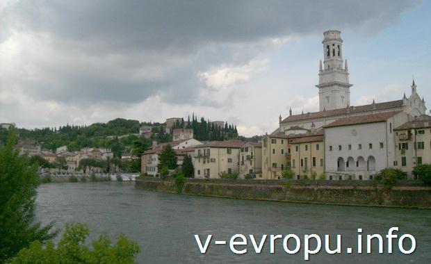 Верона. Италия.