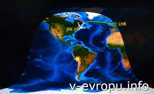 В Москве и большей части Европы уже ночь, а над Атлантикой, в США, Канаде и Южной Америке - день!