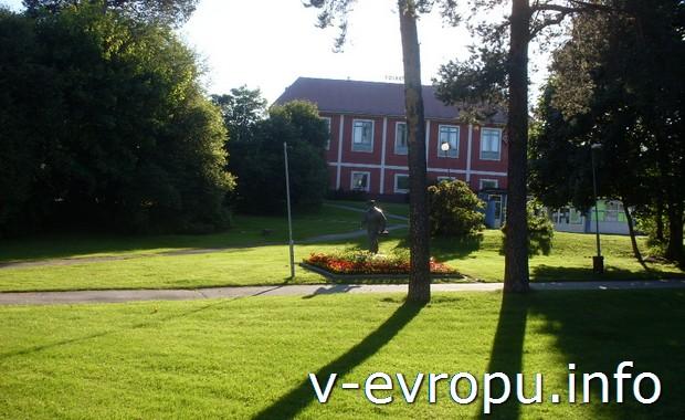 Частный двор на хуторе под Иггесундом в Швеции