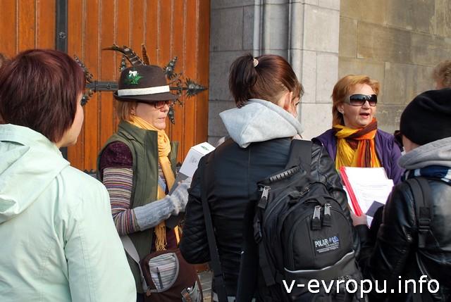 Встреча на вокзале - участники находили нас точно по плану