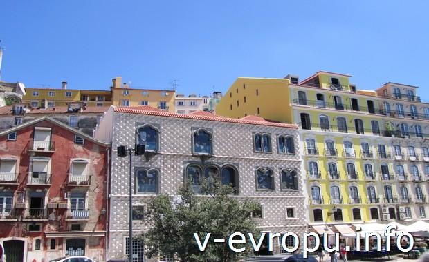Красивые дома в Лиссабоне