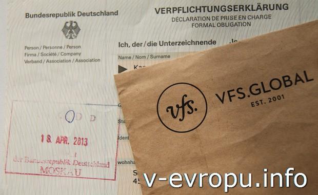 Гостевое приглашение из Германии для частного лица