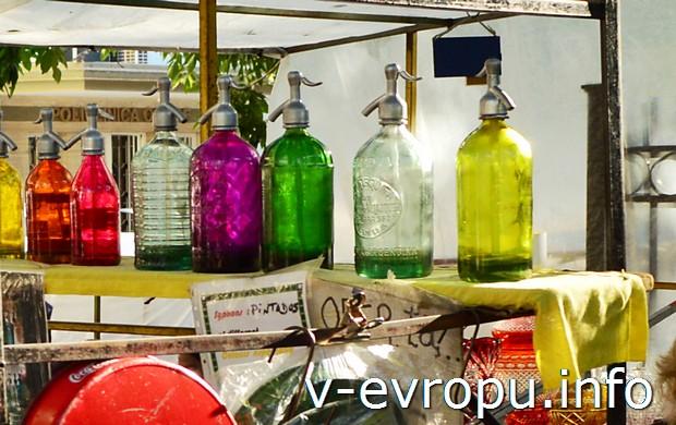 На блошином рынке продаются сифоны для газировки! (тоже Defensa)