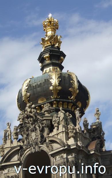 Купол парижской церкви