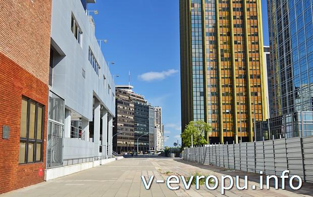 Современный квартал Буэнос-Айреса