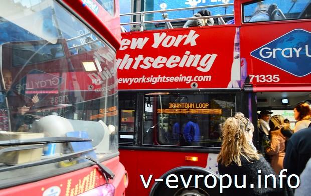 Автобусы hop on - hop off