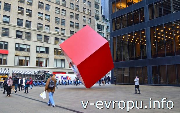 Современное искусство на улицах Нью-Йорка