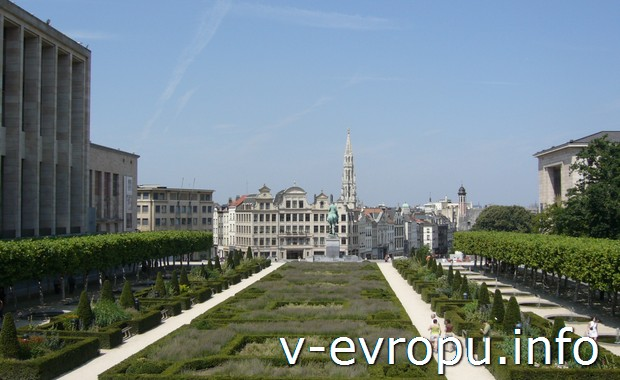 Городской парк Брюсселя