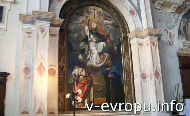 В веронской церкви Св.Ферма