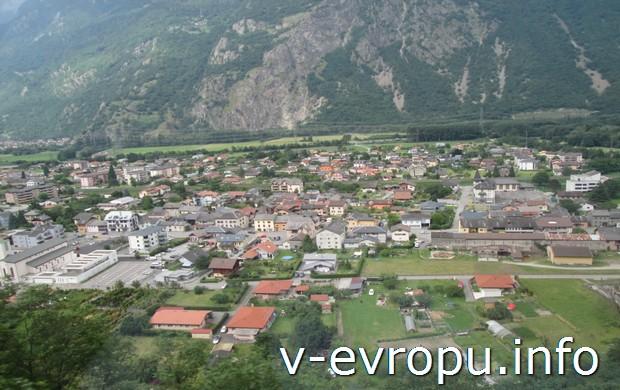 Малые городки Швейцарии