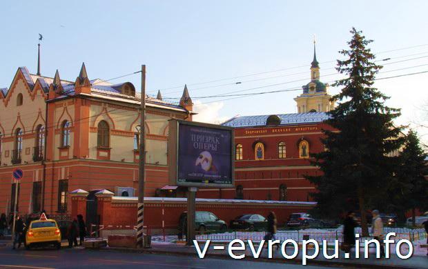 Фото Покровского Монастыря в Москве