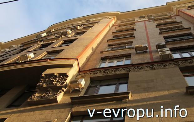 """Первый московский """"тучерез""""-небоскреб - Дом Нирнзее"""