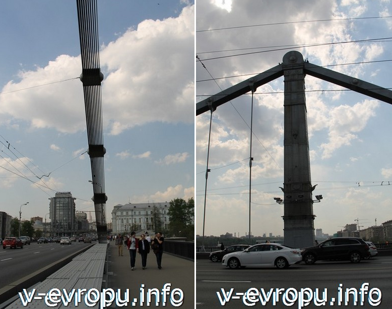 Стойки Крымского моста