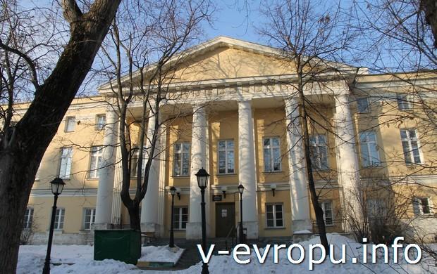 Фото усадьбы Савёловых в Пожарском переулке, 7