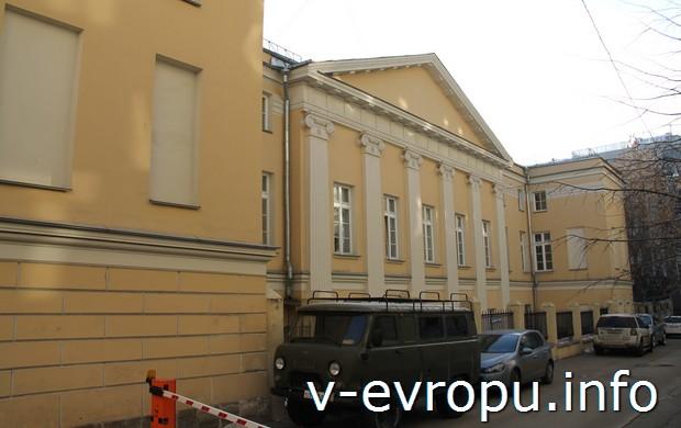 Задний фасад савёловского дома-усадьбы