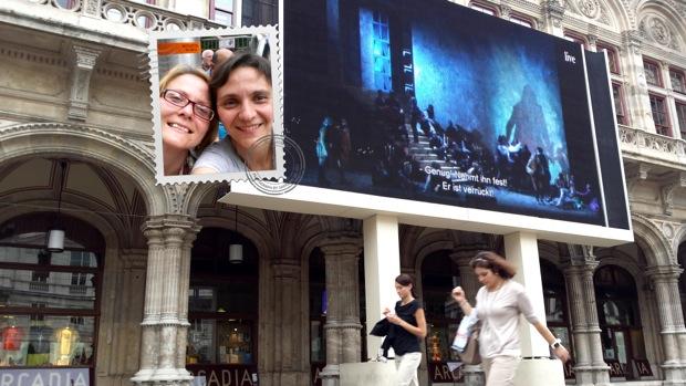 Мы с Марией Сержи остались очень довольны Живой Встречей в Вене!