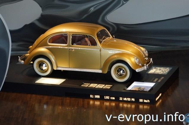 Вольфсбург. Автоштадт Volkswagen. Экспозиция Башни времени