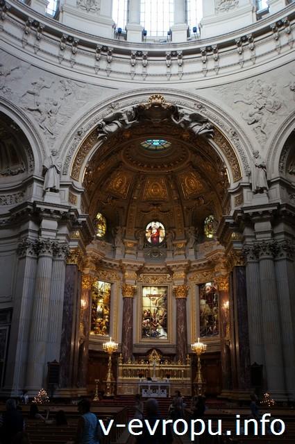 Берлинский кафедральный собор, интерьер