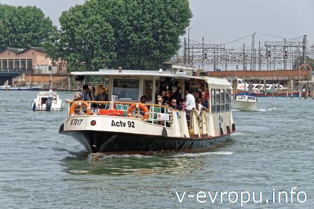 Венеция. Вапоретто