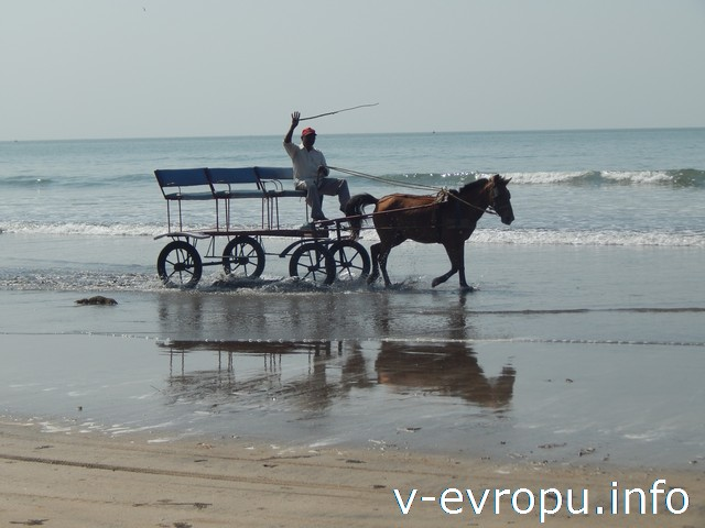 Индия. Алибаг. Пляж